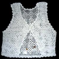 Handmade Crochet Ladies Vest - Manufacturer, Exporters and Wholesale Suppliers,  Uttar Pradesh - Dynamic Overseas
