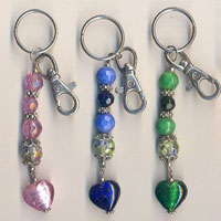 Beaded Key Chains