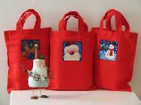 Cotton Christmas Gift Bags