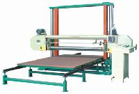 horizontal pu foam cutting machine