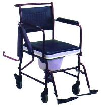 Aluminum (detachable Armrest & Footrest) With Hand Brake