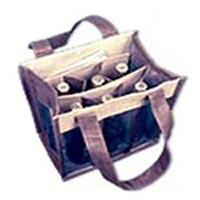 Jute Wine Gift Bags