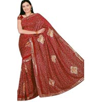Ladies Saree (Printed & Embroidered)