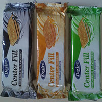 Assorted Cream Flavoured Biscuits - Manufacturer, Exporters and Wholesale Suppliers,  Gujarat - Rukmi Food Products Pvt.Ltd.