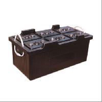Hard Rubber Battery Containers