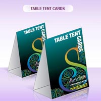 Table Tent Cards Printing Service