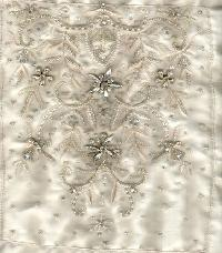 Embroidered Bridal Fabrics