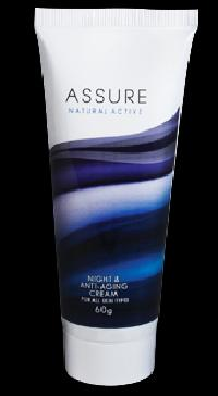 Assure Natural Active-anti Aging Night Cream