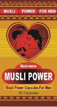 Wishnew Musli Power Capsule For Men