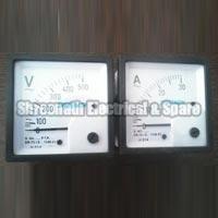 Square Shaped Ampere Volt Meter