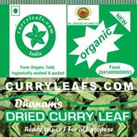 Dried Organic Curry Leaves