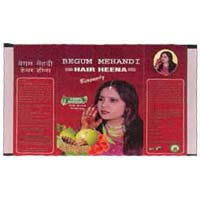 Begum Hair Color Henna Powder