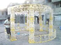 Cristal Wedding Mandap