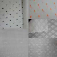 Cotton and Rayon Dobby Fabric