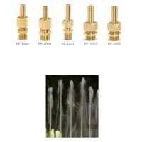 Clear Stream Fountain Nozzles