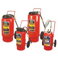Bc-abc Conventional Type Trolley Mounted Fire Extinguisher