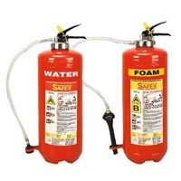 Water & Foam Squeeze Grip Cartridge Type Fire..