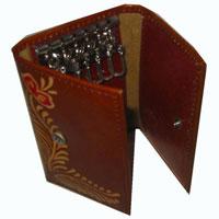 Leather Keychain Holder