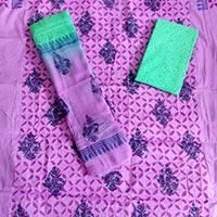 Ladies Applique Suit Fabric