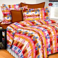 Lotus Cotton Bedsheet