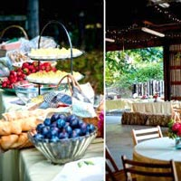 Outdoor Wedding Catering Service