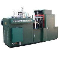 Used Hand Plastic Disposable Glass Making Machine