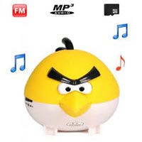 Angry Bird MP3 Mini Speaker