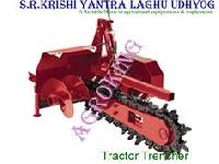 Tractor Trench Digge