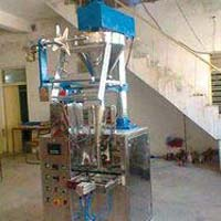Single Track Semi Pneumatic Powder Machine
