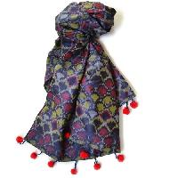 printed silk stoles collection