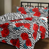 Disperse Print Synthetic Bed Covers