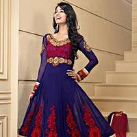 Anarkali Suits - Manufacturer, Exporters and Wholesale Suppliers,  Delhi - Shreeagam Design House Pvt Ltd