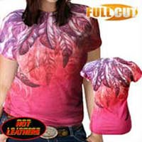 Ladies T Shirt with Burnout Print in Tirupur