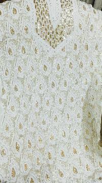 Designer Chikankari And Mukaish Suits