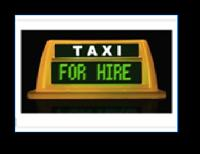 Digital Taxi Top Light