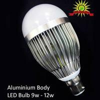 Alminiuum Body LED Bulb 9W to 12W