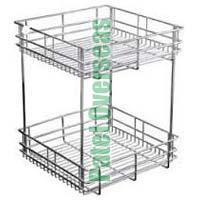 Stainless Steel Double Basket
