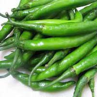 Fresh Green Chillies
