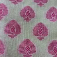 Jacquard Cotton Silk Fabric