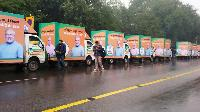 Lcd Mobile Van Rental Service