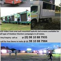 Led Video Van Road Show Services