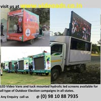 Truck Mounted Mobile Van P10 Outdoor Services