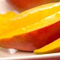 Frozen Totapuri Mango Slice