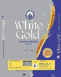 White Gold Chakki Fresh Atta 5Kg