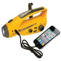 Solar Torch Radio