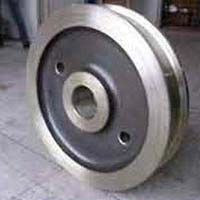 Solid Crane Wheel