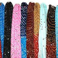 Ladies Designer Dupatta - Manufacturer, Exporters and Wholesale Suppliers,  Gujarat - Jinendra Arts