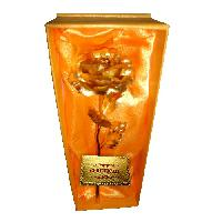 Gold Foil Rose Flower