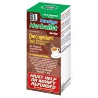 Decongestant Tea