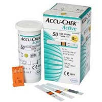 Accu-chek Active 50 Blood Sugar Level Testing Kit